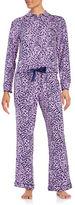 Juicy Couture Leopard-Print Pajama Set