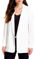 Wallis Women's Crepe One-Button Boyfriend Blazer