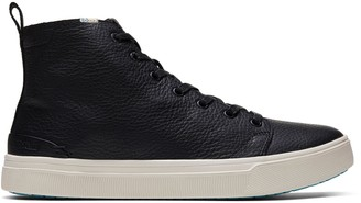 Water-Resistant Leather Men's TRVL LITE High Sneakers