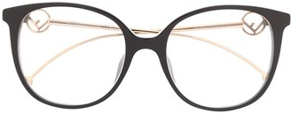 Fendi Eyewear 0425/F logo glasses