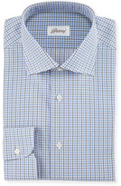 Brioni Check Woven Dress Shirt