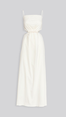 Johanna Ortiz White Sand Maxi Dress