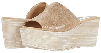 Cordani Brianna (Olive Suede) Women's Wedge Shoes
