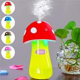Ultrasonic Cool Mist Humidifier,Dizaul®Mushroom Humidifier 200ml for skin moisturing,stealth mask with No Noise,Waterless Auto Off,LED Lights,Portable for Baby Room,Bedroom,Office,Spa,Yoga,Car