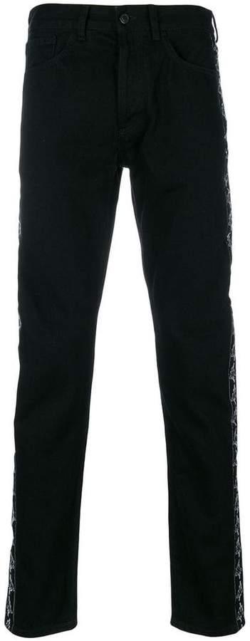 Marcelo Burlon County of Milan Kappa straight leg jeans