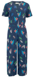 Sugarhill Boutique Jilly Paradise Parrot Culotte Jumpsuit - 8