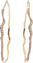Lucifer Vir Honestus Gigi Antica Diamond Hoop Earrings
