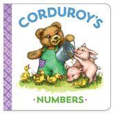 """Corduroy's Numbers"" Board Book by MaryJo Scott"
