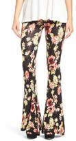 Volcom 'Fallin' for You' Floral Print Flare Pants