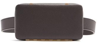 Lutz Morris Evan Grained-leather Belt Bag - Black