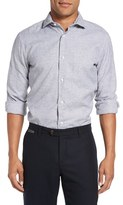 Eleventy Men's Houndstooth Sport Shirt