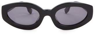 Cat Eye Meteor Amour 53MM Oval Sunglasses