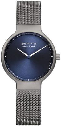 Bering Max Rene 15531-077 Mesh Strap Grey Watch