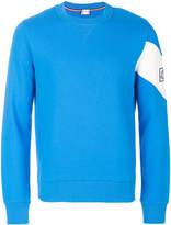Moncler Gamme Bleu contrast sleeve sweatshirt