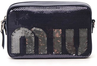 Miu Miu Sequinned Crossbody Bag