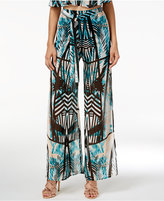 Material Girl Juniors' Printed Palazzo Pants, Only at Macy's
