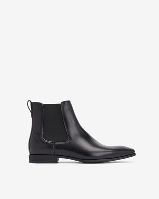 Express Genuine Leather Chelsea Boot