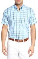 Peter Millar Men's Exploded Gingham Sport Shirt