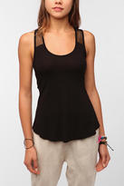 Urban Outfitters Nesh Mesh Swing Tank Top