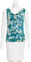 Marc Jacobs Printed Cashmere Top