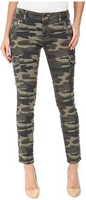 Mavi Jeans Juliette Skinny Cargo in Military Camouflage (Military Camouflage) Women's Jeans