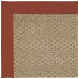 Zeppelin Machine Tufted Red/Brown Indoor/Outdoor Area Rug Longshore Tides Rug Size: Rectangle 9' x 12'