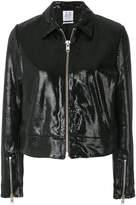 Zoe Karssen textured bomber jacket