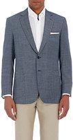 Brioni Men's Neat-Pattern Colosseo Sportcoat-BLUE