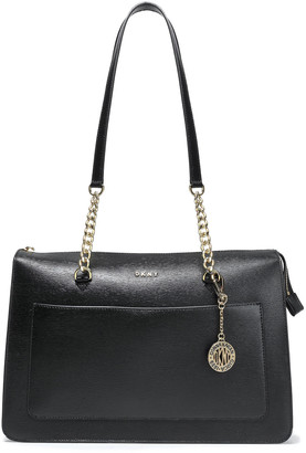 DKNY Bryant Park Textured-leather Tote