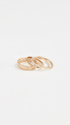 Madewell Delicate Stacking Ring Set