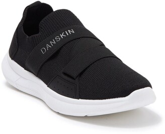 Danskin Sock Knit Cross Band Slip-On Sneaker