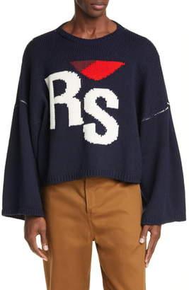 Raf Simons RS Intarsia Merino Wool Sweater