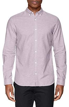 Jack and Jones Men's Jprsummer Shirt L/s Button Down STS Formal,Large