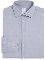 Armani Collezioni Micro Check Slim Fit Dress Shirt