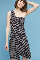 Maeve Moka One-Shoulder Dress
