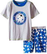 Hatley Astronauts In Space Tee & Shorts Set (Toddler/Little Kids/Big Kids)