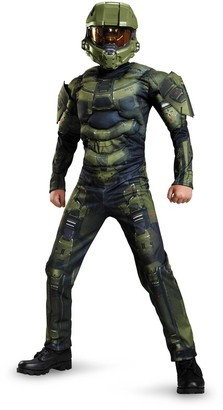 Disguise Muscle Costume Halo Master Chief Size L