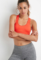 Forever 21 High Impact - Mesh-Paneled Sports Bra