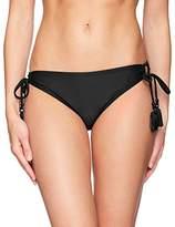CoCo Reef Women's Classic Solids Side Tie Bikini Bottom