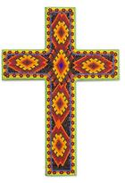 Beadwork cross, 'Eyes of God'