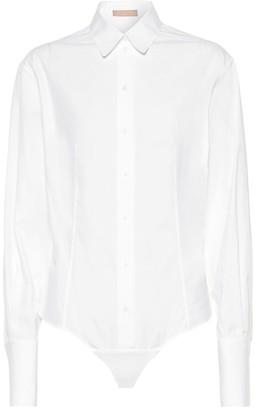 Alaia Cotton bodysuit