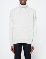 Ami Oversized Turtleneck Sweater