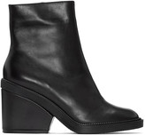Robert Clergerie Black Babe Ankle Boots