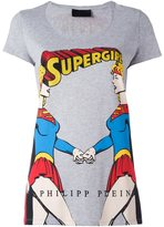 Philipp Plein super girl print T-shirt