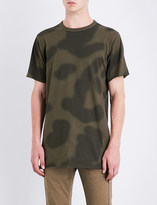 MHI Camouflage-print cotton-jersey T-shirt