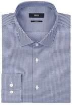 Boss Slim-fit Gingham Printed Shirt