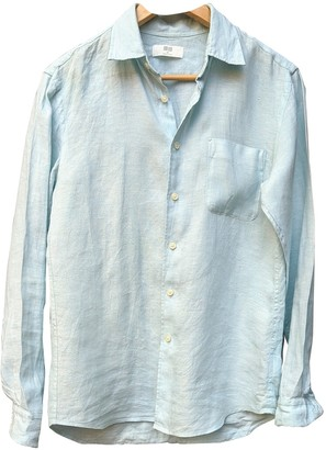 Uniqlo Blue Linen Top for Women