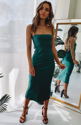 Beginning Boutique Amaryllis Dress Emerald