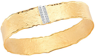 I. Reiss 14K 0.17 Ct. Tw. Diamond Cuff
