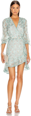 Jonathan Simkhai Fiorella Medallion Dress in Seafoam | FWRD